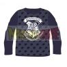 Camiseta niño manga larga Harry Potter - Hogwarts azul marino 9 años - 134cm