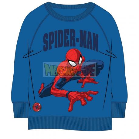Sudadera Marvel - Spider-man azul 5 años - 110cm