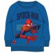 Sudadera Marvel - Spiderman azul 8 años - 128cm
