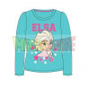 Camiseta manga larga niña Frozen - Elsa turquesa 5 años 110cm