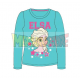 Camiseta manga larga niña Frozen - Elsa turquesa 7 años 122cm