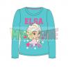 Camiseta manga larga niña Frozen - Elsa turquesa 8 años 128cm