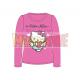 Camiseta niña manga larga Hello Kitty - Angel corazón rosa 8 años 128cm