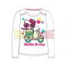Camiseta manga larga Hello Kitty - Moto blanca 5 años 110cm