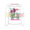Camiseta manga larga Hello Kitty - Moto blanca 8 años 128cm