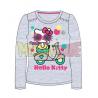 Camiseta manga larga Hello Kitty - Moto gris 5 años 110cm