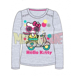 Camiseta manga larga Hello Kitty - Moto gris 8 años 128cm