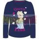 Camiseta niña manga larga Frozen - Elsa Queen azul marino 9 años 134cm
