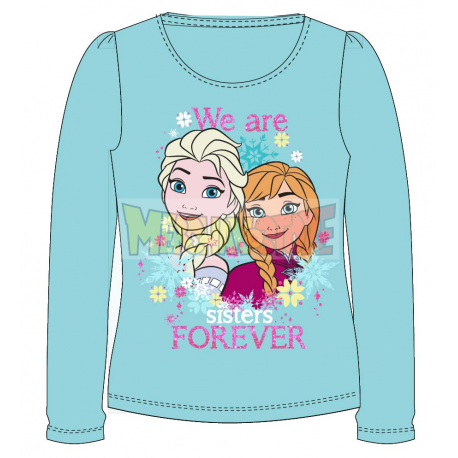 Camiseta manga larga niña Frozen - We are sisters forever 7 años 122cm