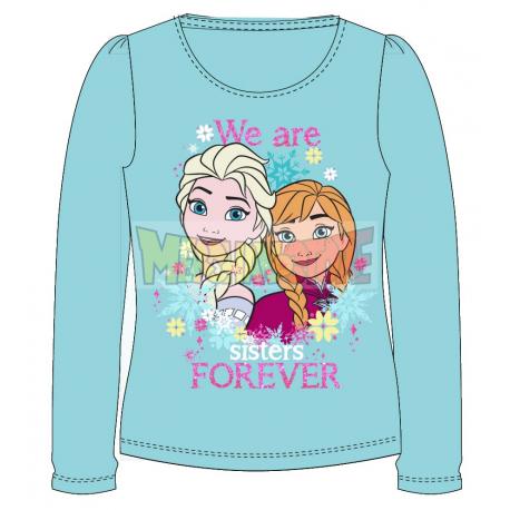 Camiseta manga larga niña Frozen - We are sisters forever 8 años 128cm