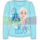Camiseta manga larga niña Frozen - Elsa castillo turquesa 4 años 104cm