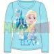 Camiseta manga larga niña Frozen - Elsa castillo turquesa 5 años 110cm