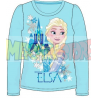 Camiseta manga larga niña Frozen - Elsa castillo turquesa 9 años 134cm