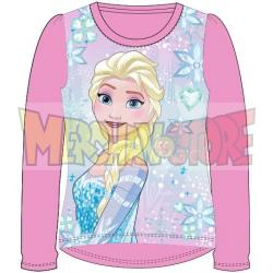 Camiseta manga larga niña Frozen - Ice magic rosa 4 años 104cm
