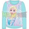 Camiseta manga larga niña Frozen - Ice magic celeste 8 años 128cm