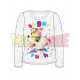 Camiseta manga larga niña Minions - Sugar Rush gris 5 años 110cm