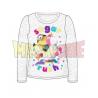 Camiseta manga larga niña Minions - Sugar Rush gris 6 años 116cm
