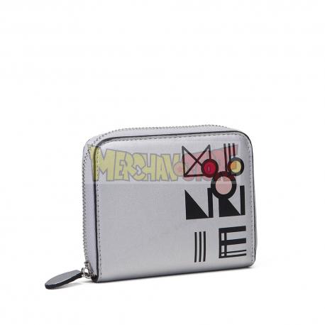 Billetera Minnie Mouse - Meetallic 12x10x2,5cm