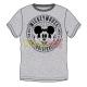 Camiseta adulto manga corta Mickey Mouse gris Talla M