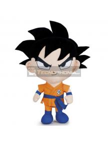 Peluche Goku Dragon Ball Super 30cm pelo negro