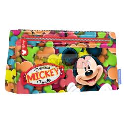 Estuche portatodo plano Mickey Mouse - Delicious 12x22X3cm