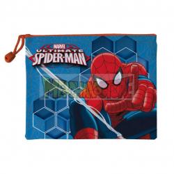 Neceser Marvel - Spider-man Ultimate naranja 24cm