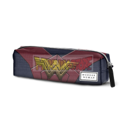 Estuche portatodo cuadrado Wonder Woman 6x22x5,5cm