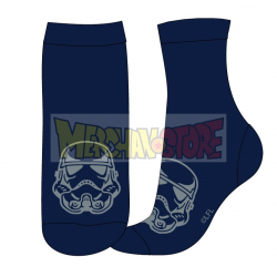Calcetines adulto Star Wars azul Talla 43-46