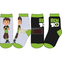 Pack de 2 calcetines niño Ben 10 Talla 23-26