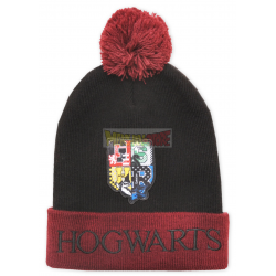 Gorro de invierno adulto Harry Potter - Hogwarts 56cm