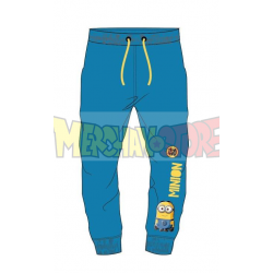 Pantalon chandal niño Minions azul 4 años 104cm