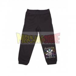 Pantalón de chándal niña Furby negro 7 años 122cm