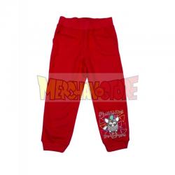 Pantalón de chándal niña Furby rojo 6 años 116cm