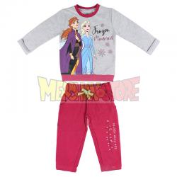 Chándal polar Disney Frozen 2 - Elsa y Anna 6 años 116cm