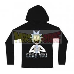 Sudadera con capucha adulto Rick and Morty negra Talla M
