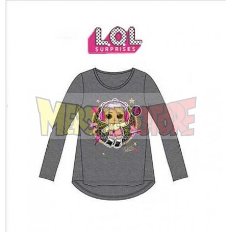 Camiseta manga larga niño PJ Masks Super Heroes gris 7 años 122cm
