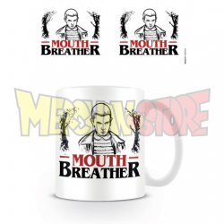 Taza cerámica Stranger Things - Mouth Breather 330Ml