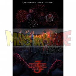 Póster Stranger Things - One Summer tercera temporada 61x91.50cm
