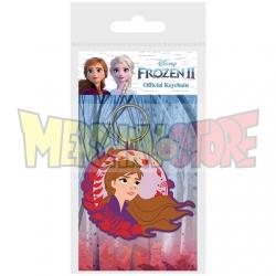 Llavero de goma Disney - Frozen 2 Anna