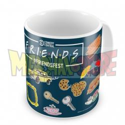 Taza cerámica Friends - Puzzle 320ml