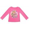 Camiseta niña manga larga Barbie rosa 3 años 98cm