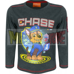 Camiseta niño manga larga Patrulla Canina - Chase 5 años 110cm