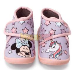 Zapatillas bota infantiles Disney - Minnie Talla 27