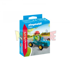 Playmobil - 5382 Niño con kart