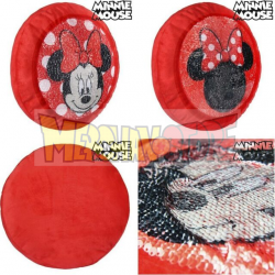 Cojin premium Disney Minnie con lentejuelas