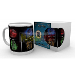 Taza cerámica 300ML Harry Potter - Crests