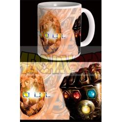 Taza cerámica Marvel - Vengadores Infinity War Soul Stone 300ml