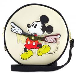 Bolso bandolera Loungefly Disney Mickey redondo