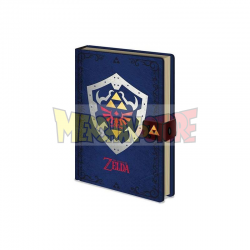 Agenda The Legend of Zelda Diseño Escudo Hyliano A5