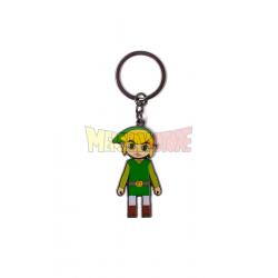 Llavero metálico The Legend of Zelda con cabeza articulada